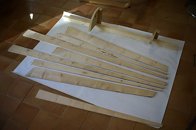 Construction d'une harpe celtique de 36 cordes 08