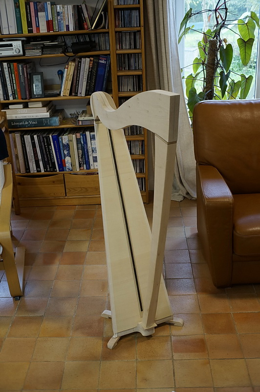 Construction d'une harpe celtique de 36 cordes 37