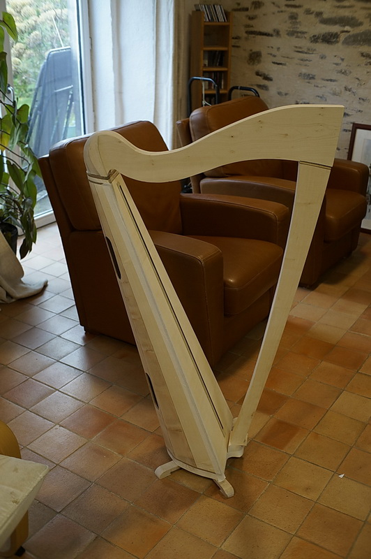 Construction d'une harpe celtique de 36 cordes 38