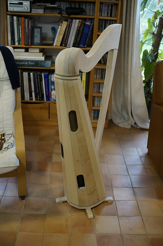 Construction d'une harpe celtique de 36 cordes 39